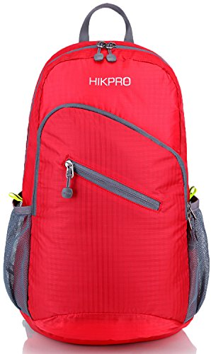 Packable Backpack / Ultra Lightweight Hiking Daypack Desgined for Travel Camping Biking + Best Handy Foldable Travelling Backpacking Bag / Purse + Ultralight 7 oz ONLY!