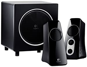 Logitech Speaker System Z523 with Subwoofer by Logitech, Inc