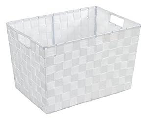 wenko 19883100 corbeille salle de bains adria m blanc cuisine maison. Black Bedroom Furniture Sets. Home Design Ideas