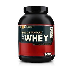 Optimum Nutrition 100% Whey Gold Standard, Banana Cream, 10 Pound
