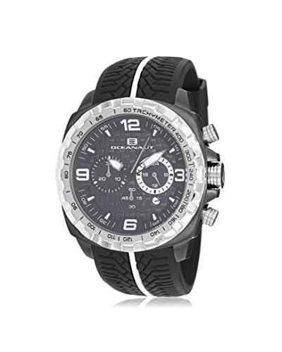 Oceanaut Men's OC1120 Racer Black Silicone Strap Watch