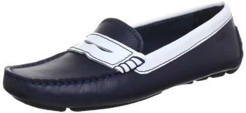 Gant Jolie navy/white leather Moccasins Womens Blue Blau (navy white) Size: 6 (39 EU)