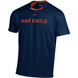 Buy NCAA Auburn Tigers Short Sleeve Win It Tee, Medium, Navy by Under Armour