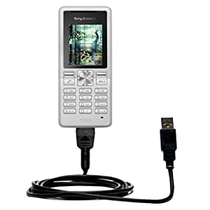 Hot Sync und Straight USB-Ladekabel für Sony Ericsson T250i Mit TipExchange Technologie ausgerüstet