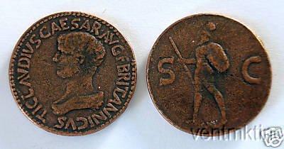 (DD S 31) Sestertius of Britannicus COPY