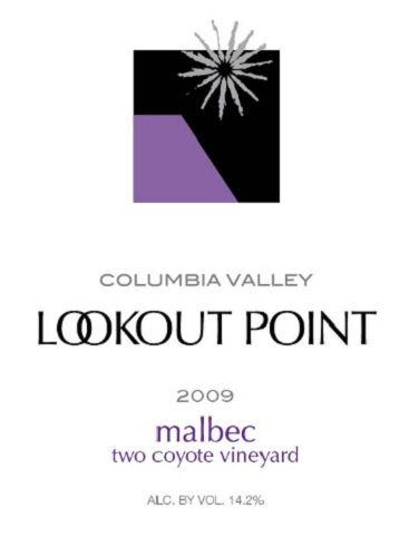 2009 Lookout Point Winery Rattlesnake Hills Malbec 750 Ml