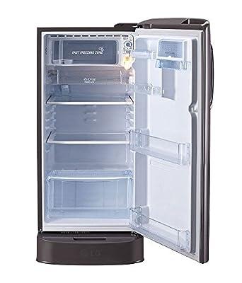 LG GL-D201ASLN Direct-cool Single-door Refrigerator (190 Ltrs, 5 Star Rating, Scarlet Lily)