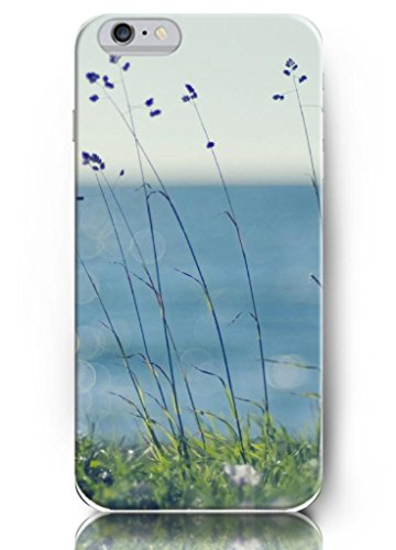 Ouo New Unique Vintage Hard Cover For 4.7 Inch Iphone 6 Case Small Purple Flowers