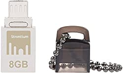Strontium Nitro 8 GB USB 2.0 OTG Pen Drive
