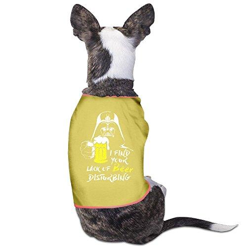 [PET-Cute I Find Your Lack Of Beer Disturbing Beer Festival Pet Dog Clothing.] (Elvis Presley Dog Costumes)