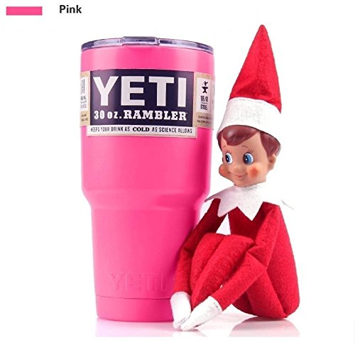 YETI Rambler Tumbler 30oz Hot Pink Stainless Steel Cup New