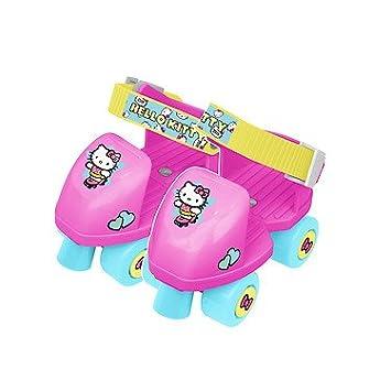 HTI - Hello Kitty - Patins à Roulettes Junior 4 Roues (Couleur Aléatoire)