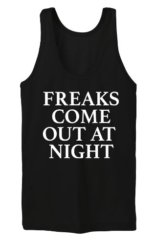 Freaks Come Out At Night Tanktop Girls Nero-XL