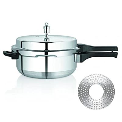 Premier Aluminium Induction Bottom Pressure Pan - Classic Large 5.5 Litres (Approx.)