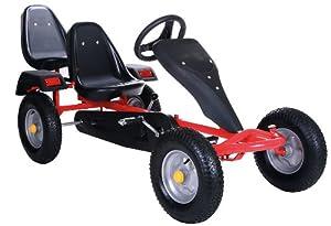 robustes zweisitzer go kart tretauto von kid 39 n joy in. Black Bedroom Furniture Sets. Home Design Ideas