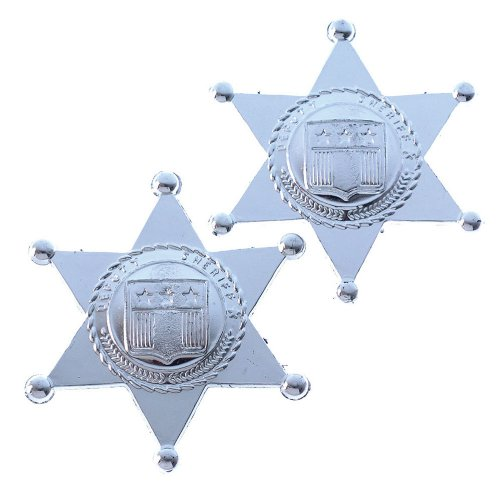 Toy Sheriff Badges (One Dozen Bag)