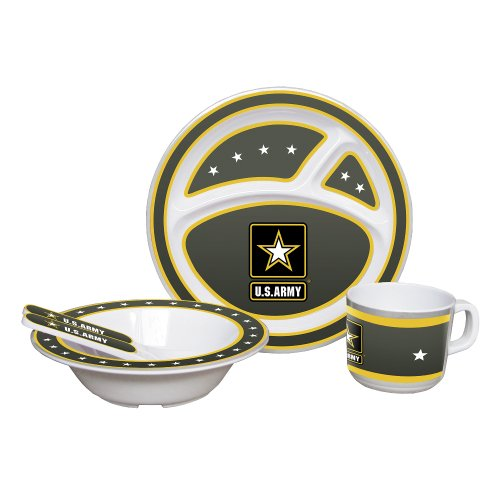 NCAA U.S. Army Kids Dish Set - 1