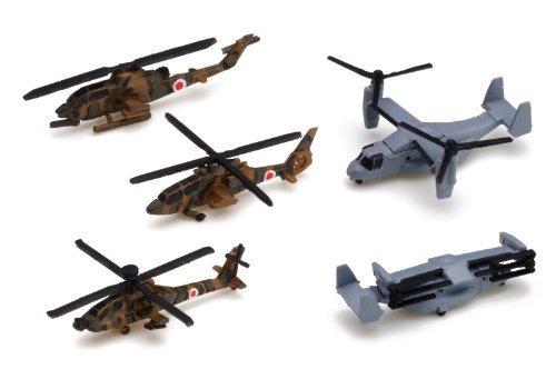 1 / 700 waterline series No.556 aircraft jgsdf helicopter - set
