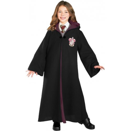 Harry Potter - Gryffindor Robe Deluxe Costume (Boy's Children's Costume)