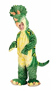 Forum Novelties Plush Cuddlee Triceratops Costume, Toddler Size