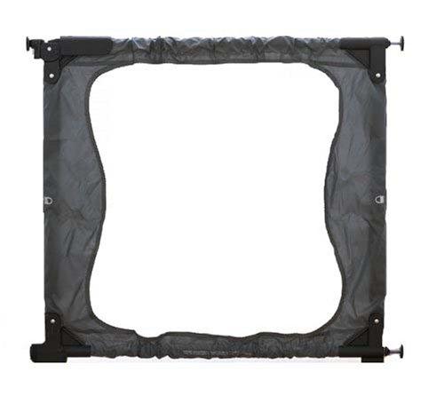 Artikelbild: Baby Dan 6617-1610-3-00-85 - Türschutzgitter: Gate to Go, grau / schwarz, Türbreite 71-92 cm