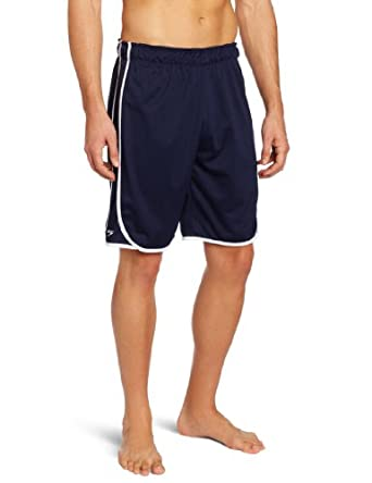 Speedo Men's Male Tech Short, Navy, Small