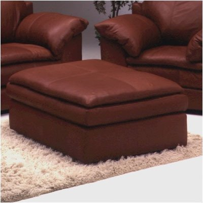 Incredible Encino Leather Cocktail Ottoman Upholstery Dream Oyster Andrewgaddart Wooden Chair Designs For Living Room Andrewgaddartcom