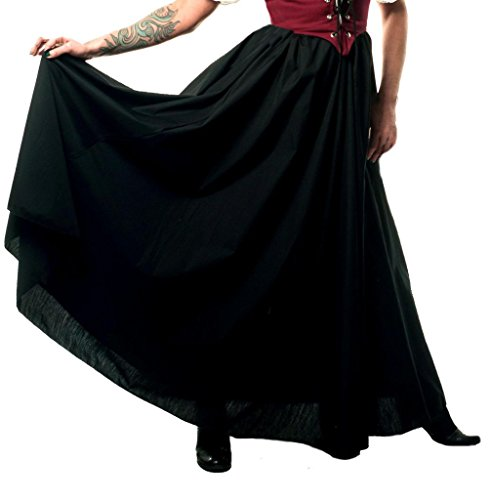 Faire Lady Designs Women's Renaissance Costume Civil War Skirt