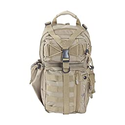 Allen Company 10855 Lite Force Tactical Pack, Tan