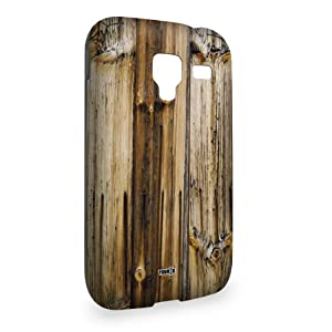 YOUNiiK Mobile Phone Case Cover for Samsung Galaxy Ace 2 i8160 - Wood Plank