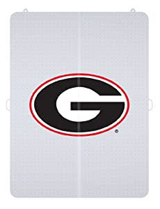 NCAA Georgia Bulldogs Logo Foldable Hard Floor Chairmat by ES Robbins