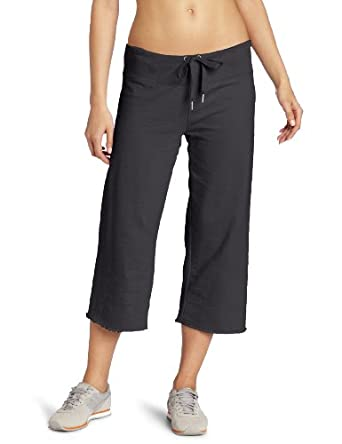 Calvin Klein Performance Women's Crop Pant, Charcoal, Small