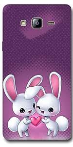 SEI HEI KI Designer Back Cover For Samsung Galaxy On7 - Multicolor
