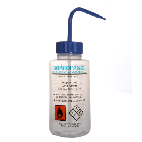 Azlon 506455-0004 250Ml Driplok Safety Vented Isopropyl Alcohol (Ipa) Wash Bottle (Case Of 5) front-915098