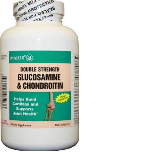 Glucosamine Chondroitin, Double Strength, Caplet, 180Ct