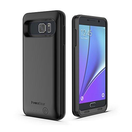 online store 5c759 9c18f PowerBear Note 5 Battery Case [5000 mAh] High Capacity External ...