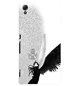 PRINTVISA Abstract Angel Case Cover for Sony Xperia Z4