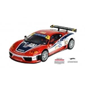 1/32 SCX Analog Slot Cars - Ferrari 360 2007 - No. 93 (SCX62480)