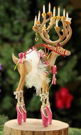 Patience Brewster Dashaway Dancer Reindeer Ornament