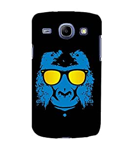 printtech Cool Gorilla Monkey Glasses Back Case Cover for Samsung Galaxy J1 (2016 EDITION )/ J120F (Global); Galaxy Express 3 J120A (AT&T); J120H, J120M, J120M, J120T Also known as Samsung Galaxy J1 (2016) Duos with dual-SIM card slots