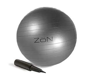 ZoN EX/BALL-S-X 55Cm Body Ball (Silver)