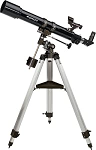 Orion 09882 Observer 70mm Equatorial Refractor Telescope (Black)