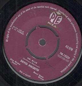 """MR BLUE 7 INCH (7"""" VINYL 45) UK PYE 1959"""