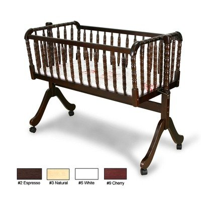 Review Of Jenny Lind Cradle Finish: Natural