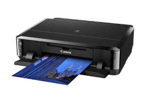 Canon Pixma iP7250 Stampante Fotografica Inkjet, Pentacromia, Wi-Fi, Nero