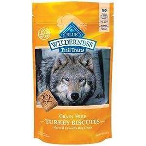 Blue Buffalo Wilderness Trail Treats Grain-Free Turkey Dog Biscuits, 10 oz.