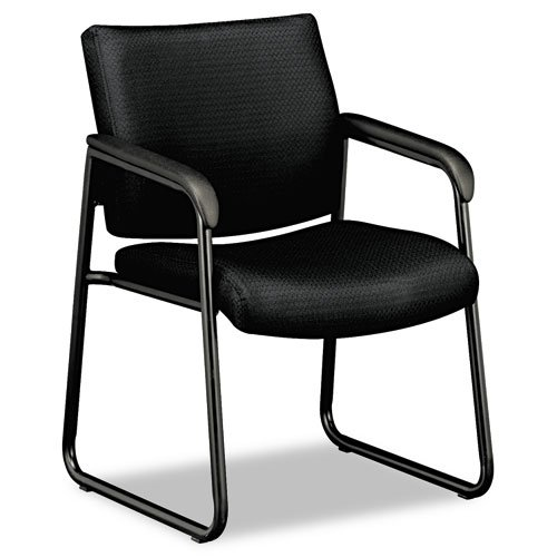 basyx by hon guest chair black furniture office furniture