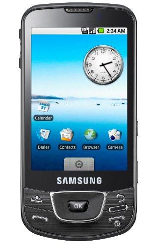 Samsung I7500 Android Unlocked Phone with 5 MP Camera, Wi-Fi, and 8 GB Memory--International Version No Warranty (Black)