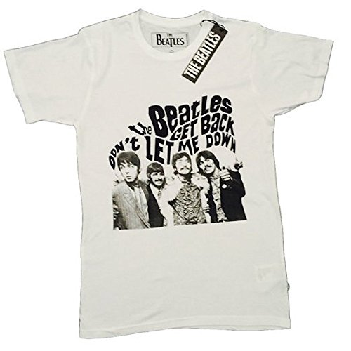 THE BEATLES - GET BACK - OFFICIAL MENS T SHIRT