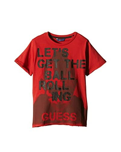 Guess T-Shirt Manica Corta Ss [Rosso]
